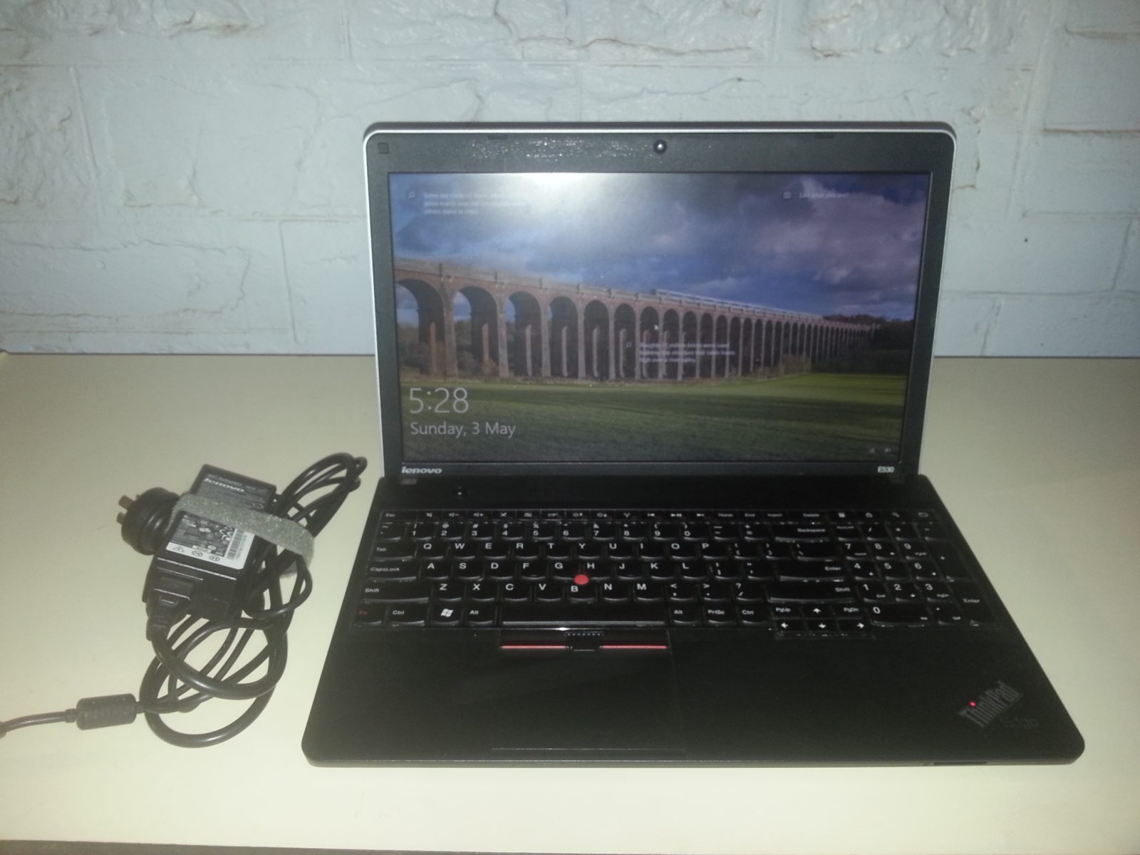 Lenovo E530 NB - 15.6in, i7,2.1ghz,8Gb RAM, 750Gb SATA - Unit & PSU