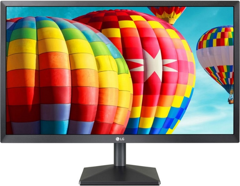 LG 27in IPS 5ms Full HD FreeSync Monitor - MNL-27MK430H-B - Front