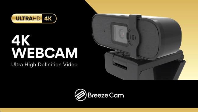 Web South - Breeze Cam USB 4K U920 Webcam - featured